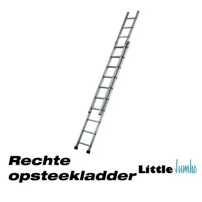 opsteek ladder recht