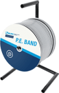 Connect seal-it 567 PE band Wit 9 x 4 mm verpakking haspel 275 meter