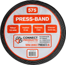 Connect seal-it Press-band 10/2 x 12.5 meter verpakking doos (375 meter)